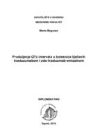 prikaz prve stranice dokumenta Produljenje QTc intervala u bolesnica liječenih trastuzumabom i ado-trastuzumab-emtazinom