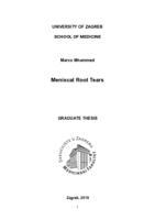 prikaz prve stranice dokumenta Meniscal root tears